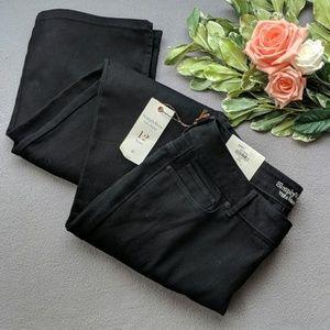 Simply Vera Wang  boot black pants